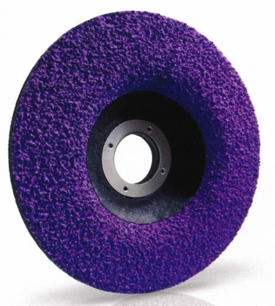 Lukas Purple Grain single 125 Schleifscheibe 10er Pack